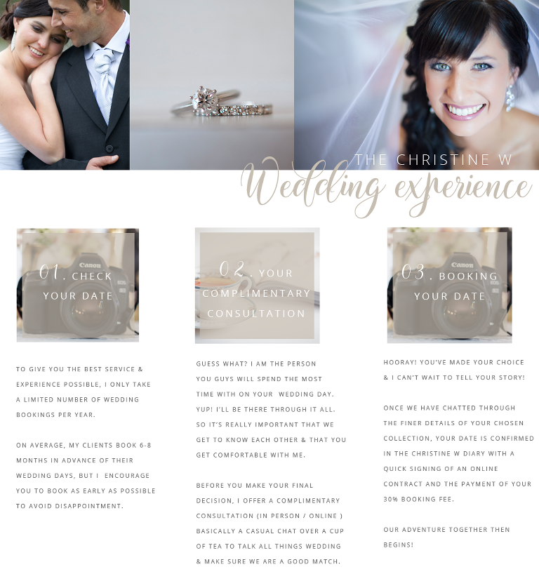 THE CHRISTINE W WEDDING EXPERIENCE_1